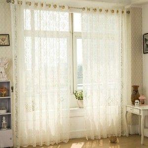 cortina sala de estar pequeña