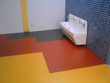 Tipos de piso cemento con color casa web - Pintura para pisos de cemento ...