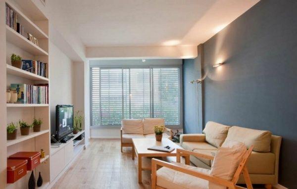 sala de estar pequeña iluminacion recomendada