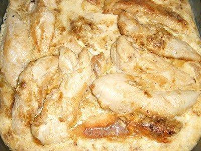 Pechugas de pollo rapida sopa cebolla