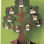 arbol genealogico creativos en carton