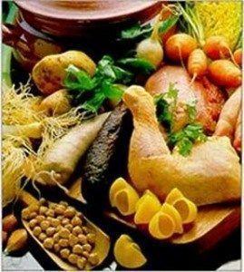 vitaminas y proteinas