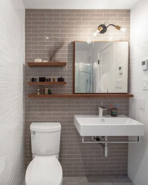 Decoraci n de ba os combinar azulejos casa web - Baldosas para banos modernos ...