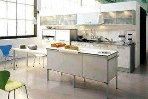 Cocinas cemento alisado