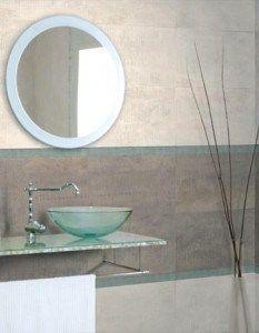 Azulejo grises para baño