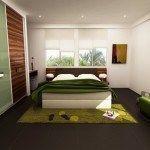 dormitorio verde imagines