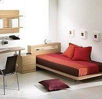 dormitorios juveniles pequeños modernos