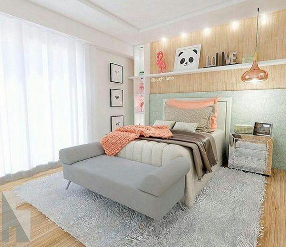 Decoración de habitaciones juveniles modernas - Casa Web