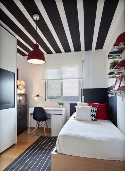 habitacion juvenil moderna minimalista chica