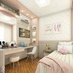 habitacion juvenil moderna para mujer