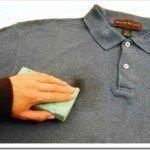 como quitar manchas en la ropa