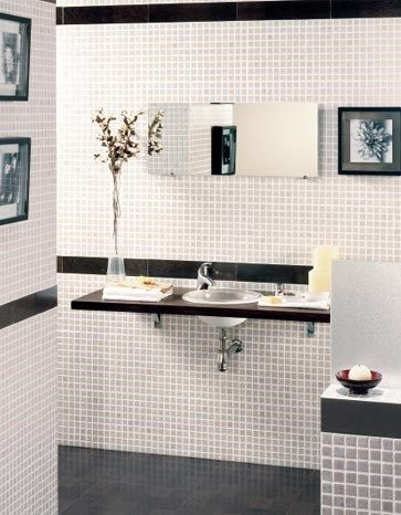Decoraci n de ba os combinar azulejos casa web - Decoracion azulejos banos pequenos ...