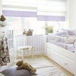 Dormitorios de niños con muebles blancos