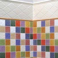 Azulejos para cuartos de baño multicolor