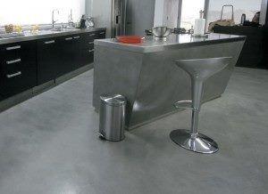 Cocinas cemento alisado 9