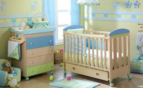 Dormitorios infantiles para bebes casa web for Decoracion habitacion de bebe varon