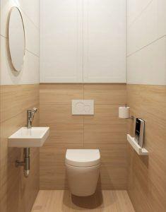 baño de servicio moderno