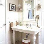 ideas para baño blanco