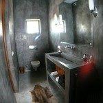 baño de cemento alisado ideas