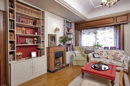 Biblioteca casa web for Muebles bibliotecas para living