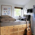 cama con cajones moderna para adultos