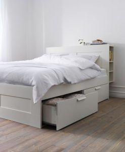 cama de dos plazas con cajones