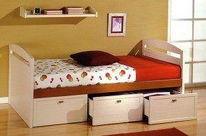 cama nido con cajones76 B