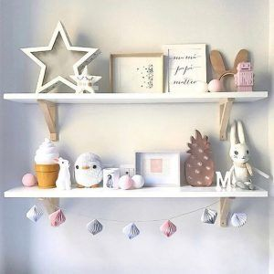 estantes decoracion dormitorio