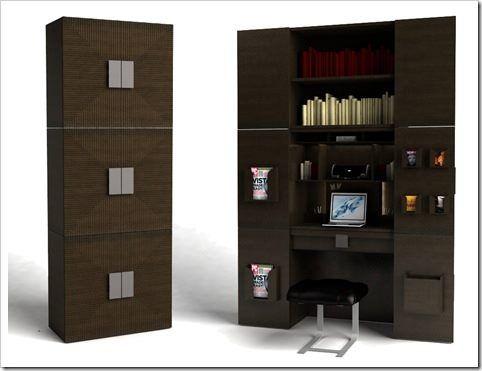 Armario multifuncional casa web for Muebles multifuncionales ikea