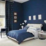 Dormitorio matrimonial Azul y blanco