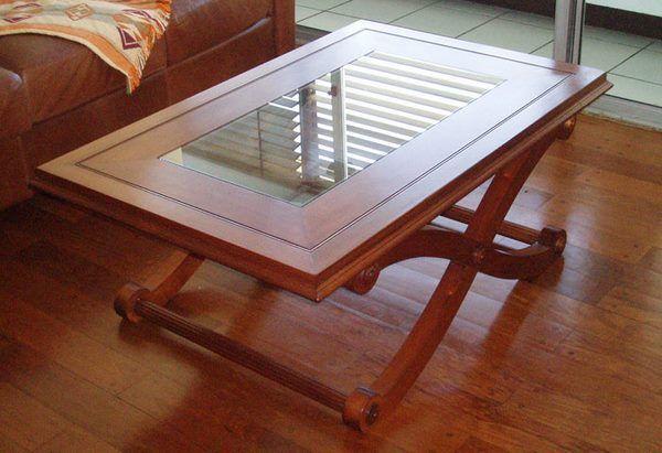 mesa central del living