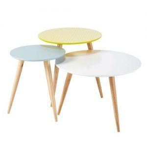 mesas para living apilables que sirven como bancos