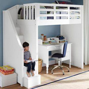 muebles blancos dormitorios para chicos