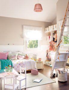muebles blancos dormitorios para nenas