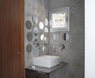 Ba o de cemento alisado o microcemento casa web - Como colocar microcemento ...