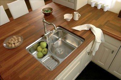 Encimara de maderas casa web for Mesadas de cocina pequenas
