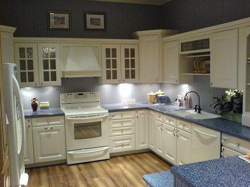 Cocina con muebles blancos | Casa Web
