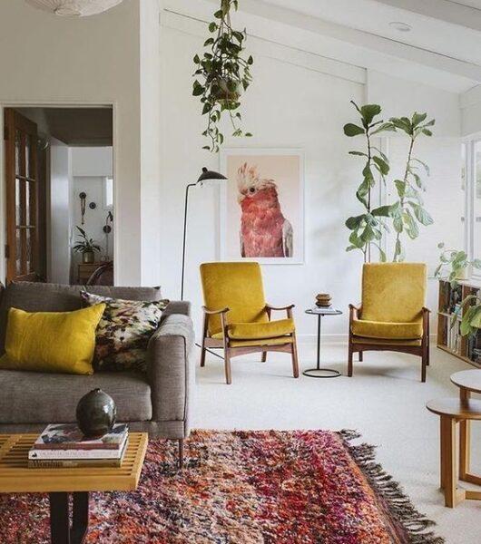 Muebles estilo etnico moderno