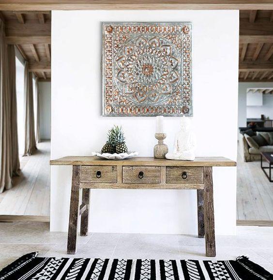 Muebles para una decoracion etnica