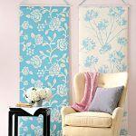 Cómo elegir paneles de tela para decorar paredes: