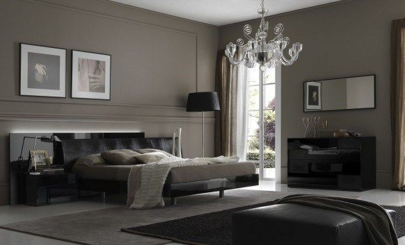 contemporary bedroom design 582x353