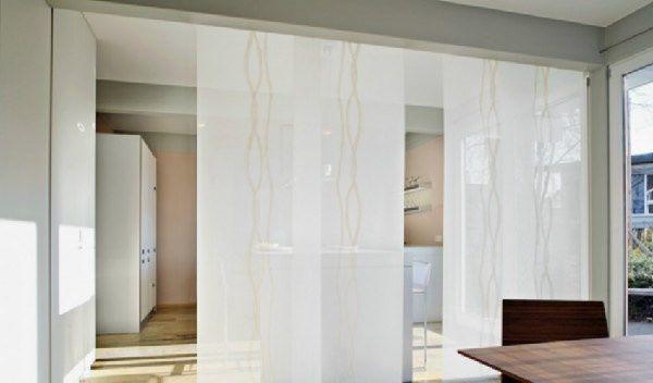 paneles de tela japoneses para dividir