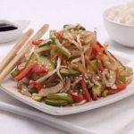 Chop suey de chancho