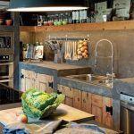cocina rustica de campo