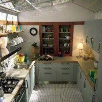 cocina pequeña