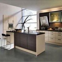 cocinas moderna marmol y gris