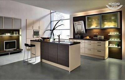 Cocinas moderna marmol y gris casa web for Lo mas moderno en cocinas integrales