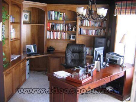 Oficina en casa 5 casa web for Imagenes de oficinas en casa