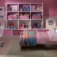 dormitorio juvenil rosado