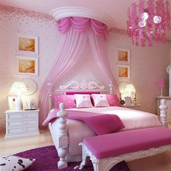 dormitorio para nenas estilo princesa